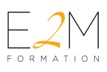 E2M FORMATION Logo